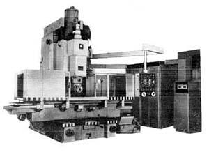 65А80 Общий вид бесконсольного фрезерного станка с крестовым столом