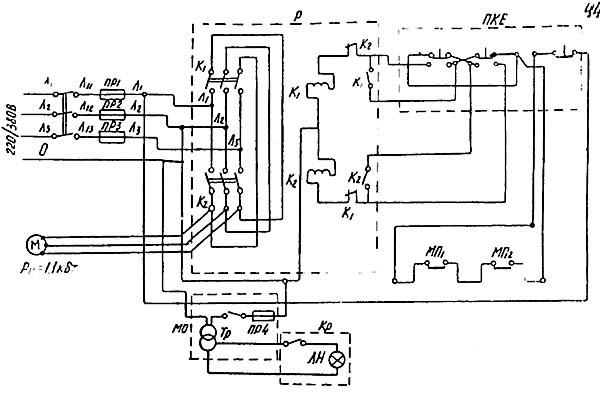 Электрическая схема винторезного станка фото 98
